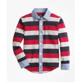 Brooksbrothers Full Placket Rugby Shirt