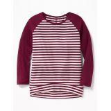Oldnavy Plush Sweater-Knit Baseball-Style Tunic for Girls