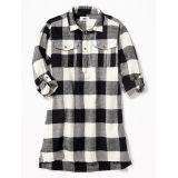 Oldnavy Plaid Shirt Dress for Girls