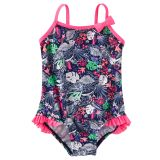 Oshkoshbgosh OshKosh Tropical Print Swimsuit