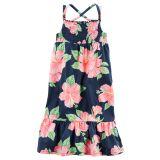 Oshkoshbgosh Smocked Floral Maxi Dress