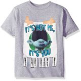 9733f2ff4e411 Trolls Boys Big Boys Call Someone Who Cares Youth Short-Sleeved T-Shirt  Tearaway
