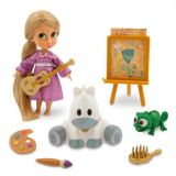 Disney Animators Collection Rapunzel Mini Doll Play Set - 5