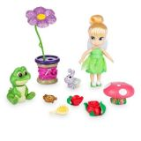Disney Animators Collection Tinker Bell Mini Doll Play Set - 5