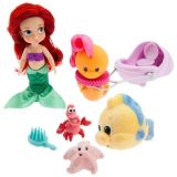 Disney Animators Collection Ariel Mini Doll Play Set - 5